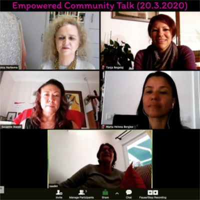 Community Empowerment Talk (20.3.2020)
