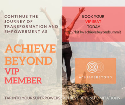 Become Achieve Beyond VIP Member